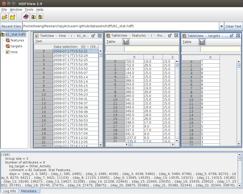 CASAS h5py — pyActLearn 0 2 0 dev0 documentation